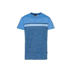 Pánske tričko s krátkym rukávom SAM73-Mens T-shirt s short sleeve-MT 765 220-Blue