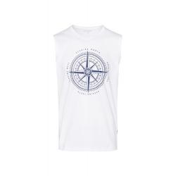 Pánské triko bez rukávů SAM73-Pánské tílko-MTSR486000SM-White