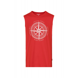 Pánské triko bez rukávů SAM73-Pánské tílko-MTSR486475SM-Red