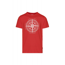 Pánske tričko s krátkym rukávom SAM73-Mens T-shirt s short sleeve-MTSR488475SM-Red