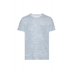 Pánske tričko s krátkym rukávom SAM73-Mens T-shirt s short sleeve-MTSR522669SM-Blue