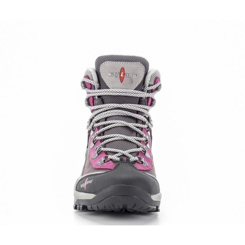 Dámska turistická obuv vysoká KAYLAND-TAIGA WS GTX GREY VIOLET -