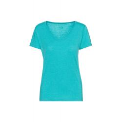 Dámske tričko s krátkym rukávom SAM73-Womens T-shirt s short sleeve-LTSR614609SM-Blue
