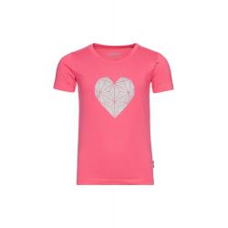 Dívčí tričko s krátkým rukávem SAM73-Dívčí triko s krátkým rukávem-KTSR253419SM-Pink