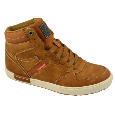 Juniorská zimní obuv střední HEAD-J brown