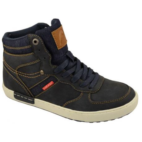 Juniorská zimní obuv střední HEAD-J navy