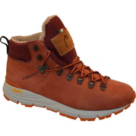Dámska zimná obuv vysoká HEAD-City L 1 red