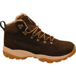 Pánska zimná obuv vysoká HEAD-Apres L/M 10 dk.brown/nero