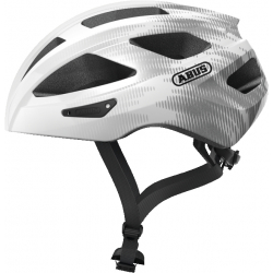 Cyklistická prilba ABUS-Macator white silver Grey