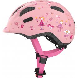Cyklistická přilba ABUS-Smiley 2.0 rose princess Pink