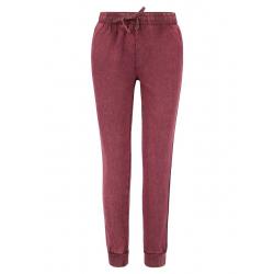 Dámské teplákové kalhoty VOLCANO-N-Nanya-BURGUNDY