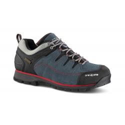 Pánská turistická obuv nízká TREZETA-HURRICANE EVO LOW WP BLUE RED