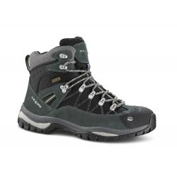 Pánska turistická obuv vysoká TREZETA-ADVENTURE WP DARK GREEN BLACK