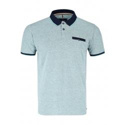 Pánské polo tričko s krátkým rukávem VOLCANO-T-ERIC-MINT MEL