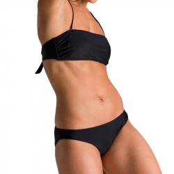 Dámske dvojdielne plavecké plavky ARENA-W ALLOVER BANDEAU ADJ BACK TWO PIECES Black I