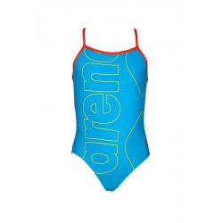 Dívčí plavecké jednodílné plavky ARENA-KIDS GIRL ONE PIECE Blue II