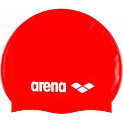 Juniorská plavecká čepice ARENA-Clasic Silicone Jr. red
