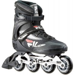 Fitness kolieskové korčule FILA SKATES-LEGACY PRO 80 BLCK/SILV/RED