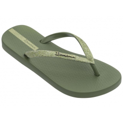 Dámske žabky (plážová obuv) IPANEMA-Lolita III Fem green/green gold
