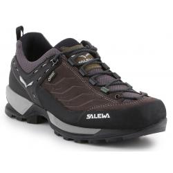 Pánska turistická obuv nízka SALEWA-Mtn Trainer GTX walnut/golden palm