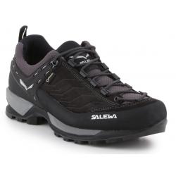 Pánska turistická obuv nízka SALEWA-Mtn Trainer GTX black out/silver