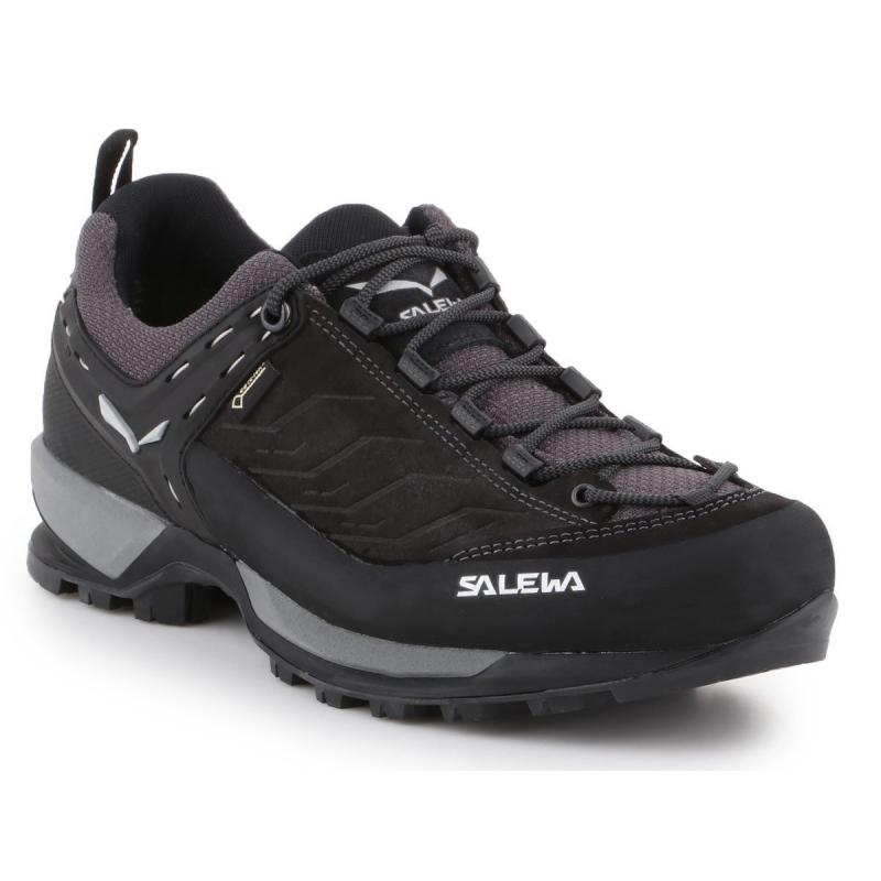 Pánská turistická obuv nízká SALEWA-Mtn Trainer GTX black out / silver -