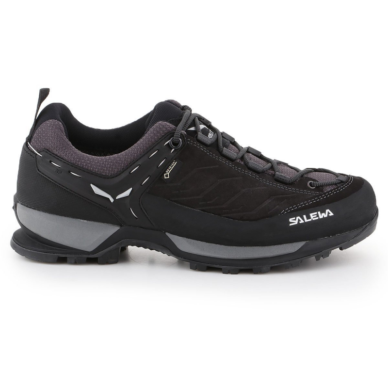 Pánska turistická obuv nízka SALEWA-Mtn Trainer GTX black out/silver -