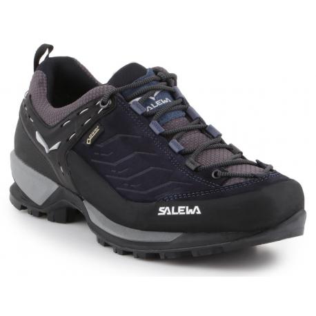 Pánska turistická obuv nízka SALEWA-Mtn Trainer GTX night black/silver