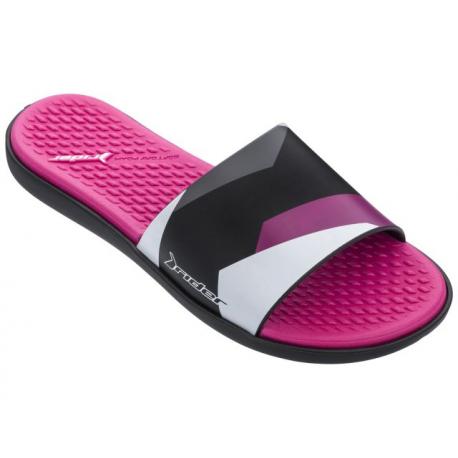 Dámska obuv k bazénu (plážová obuv) RIDER-Splash Fem black/pink