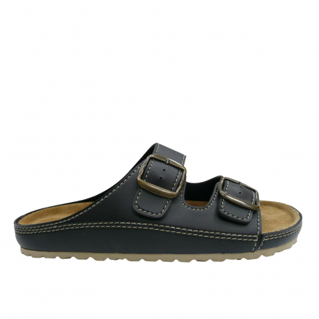 Pánské dřeváky (módní obuv) V + J-Atro black