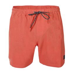 Pánske plavky BRUNOTTI-Volleyer Mens Shorts-0037-Bright Coral