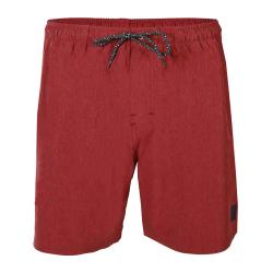 Pánske plavky BRUNOTTI-Volleyer Mens Shorts-0256-Auburn Red