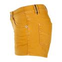Dámske riflové kraťasy BRUNOTTI-Lara-Colour Women Jog-Jeans-0160-Autumn Yellow -