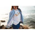 Dámske tričko s krátkym rukávom BRUNOTTI-Oulinas-Print Women T-shirt-001-Snow -