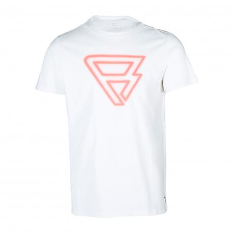 Pánske tričko s krátkym rukávom BRUNOTTI-Cold Mens T-shirt-001-Snow