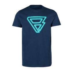 Pánske tričko s krátkym rukávom BRUNOTTI-Cold Mens T-shirt-0532-Space Blue