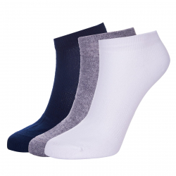 Ponožky AUTHORITY-ANKLE SOCK 3mix blue SS20
