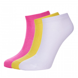 Ponožky AUTHORITY-ANKLE SOCK 3mix pink II SS20