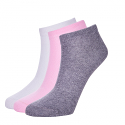 Ponožky AUTHORITY-ANKLE SOCK 3pink SS20
