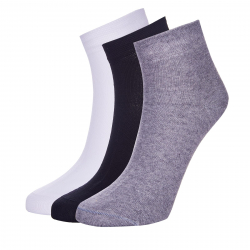 Ponožky AUTHORITY-MID SOCKS 3PCK SS20 gbw Y20