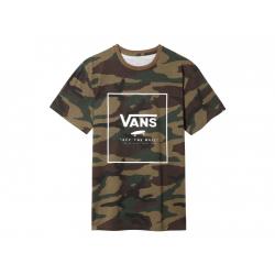 Pánske tričko s krátkym rukávom VANS-MN PRINT BOX SS Camo/White