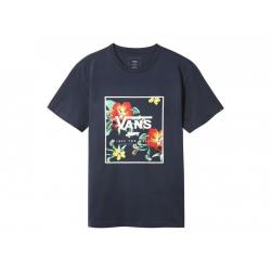 Pánske tričko s krátkym rukávom VANS-MN PRINT BOX SS DRESS BLUES TRA