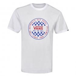 Pánské triko s krátkým rukávem VANS-MN OG CHECKER SS White