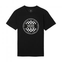 Pánske tričko s krátkym rukávom VANS-MN OG CHECKER SS Black