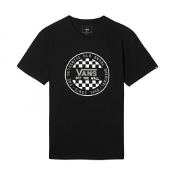 Pánské triko s krátkým rukávem VANS-MN OG CHECKER SS Black