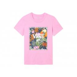 Dámske tričko s krátkym rukávom VANS-WM BOXLET FUCHSIA PINK