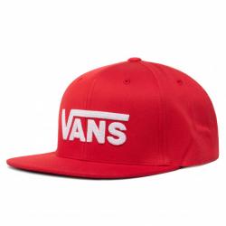 Pánská kšiltovka VANS-MN DROP V II SNAPBAC RACING RED