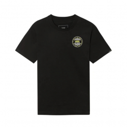Chlapecké tričko s krátkým rukávem VANS-BY OG CHECKER SS BOY BLACK / SULPHUR S
