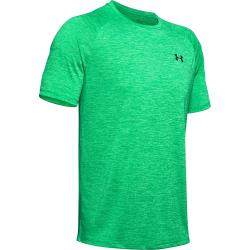 Pánske tréningové tričko s krátkym rukávom UNDER ARMOUR-UA Tech 2.0 SS Tee-GRN