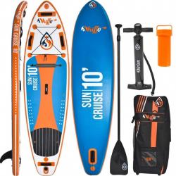 Set paddleboard a padlo SKIFFO-Sun Cruise 10 0x32x5- do 120Kg